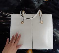 Veca cvrsta bijela torba