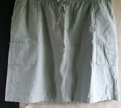 McKinley zelena suknja