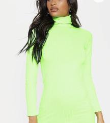 Neon haljina dugih rukava