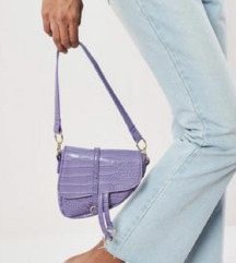 Nova ljubicasta torbica