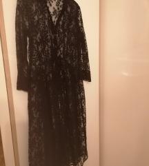 Čipkasta Zara košulja-haljina S