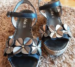Sandale prava koža