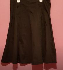 Nova crna suknja M