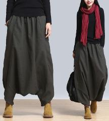 Yoga pants gypsy boho festival hlače