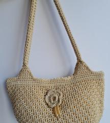 Retro torbica s perlicama
