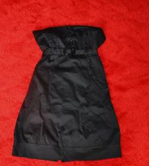 Crna stretcha haljina