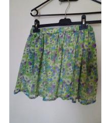 ZARA TRF suknja na cvjetiće