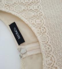 Max&co haljina od čipke i svile