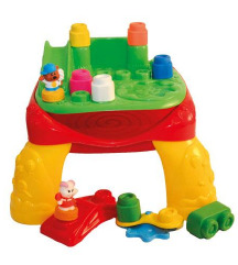 Clemmy stolić i mekane kocke za malu djecu