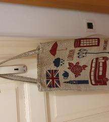 Platnena torba London