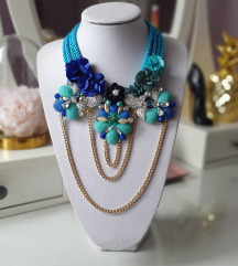 Plava ogrlica