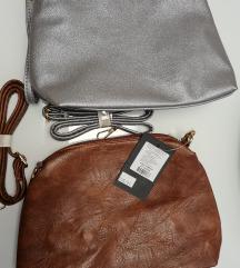 Novo# torba smeđa i srebrna