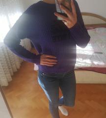 Amisu ljubicasti pulover