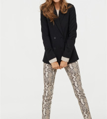 H&M hlače zmijskog uzorka NOVO!!!