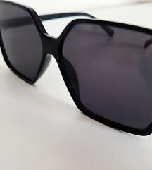 Oversize crne naočale