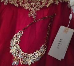 Zlatna ogrlica sa dijamantima