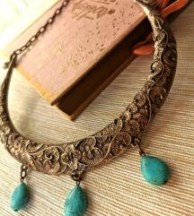 Tirkizna ogrlica/perzijski nakit