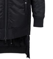 DIESEL BLACK GOLD crna zimska jakna