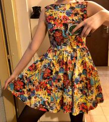 šarena haljina xs