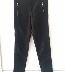Zara uske crne poslovne hlače
