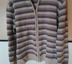 Prugasti pulover L
