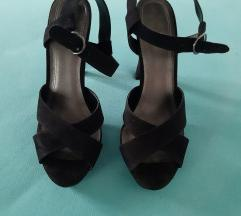 Zara sandale na petu 41