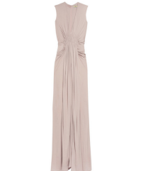 ISSA vecernja haljina u boji roza puder