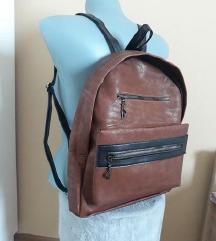 Novi smeđi ruksak