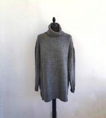 H&M oversized džemper dugih rukava