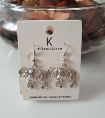 Naušnice slonići (nove)