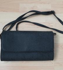 Tamno siva pismo torbica