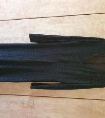 ZARA mrežasta končana haljina