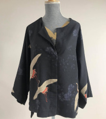 Bluza s pticama MANGO