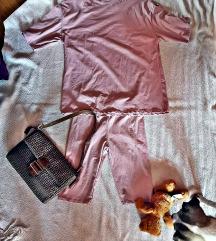 oversize majica i kratke tajice komplet