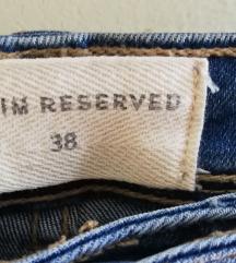 Reserved prošarane traperice