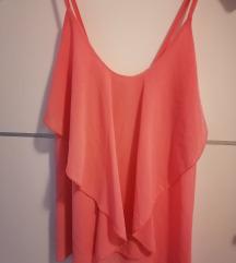 Svilena bluza roza
