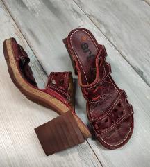 ART bordo sandale/natikače,  uklj.Tisak