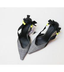 Zara slingback bow (NOVE)