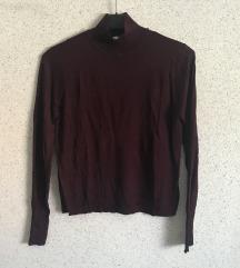 Zara bordo majica