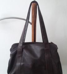 ženska torba smeđa  - cijena s tiskom
