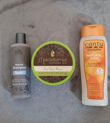Proizvodi za kosu - Urtekram i Cantu