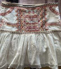 Zara bijela suknja
