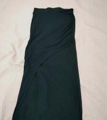 Asimetrična suknja s prorezom