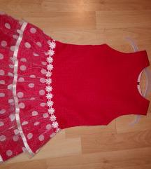 crvena haljina 116