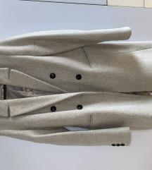 Sivi Stradivarius kaput XS