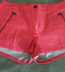 Original Guess kratke kožne hlače xs/s