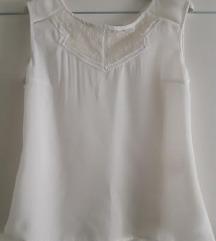 NOVO bijela bluzica sa čipkom
