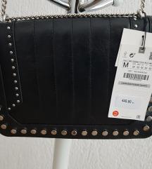 Nova Zara kožna torba s etiketom - PRAVA KOŽA!