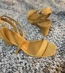 Žute MANGO sandale, 41