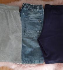 LOT 3 hlače za dečka, dječje (9-10.g, 140)